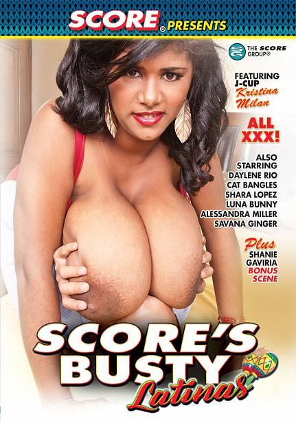 SCORE'S BUSTY LATINAS Movie Cover