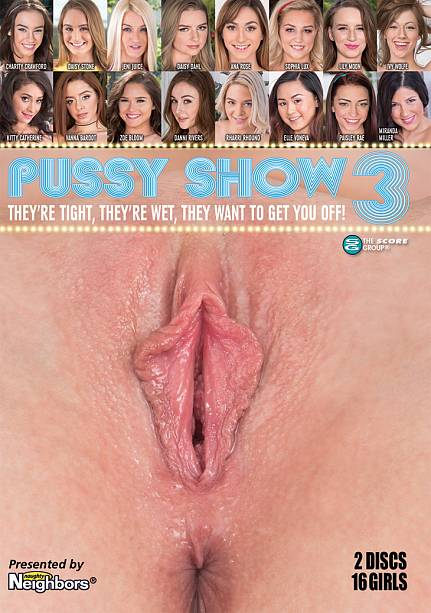 Pussy Show 3 Disc 1 Movie Cover