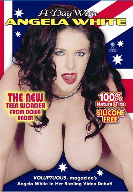 A DAY WITH ANGELA WHITE DVD cover image