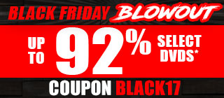 Black Friday blowout. Up to 92% Off Select Videos