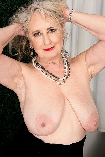 60 years old blonde granny rides his cock 3