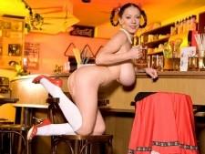 Ukrainian Bar Maid
