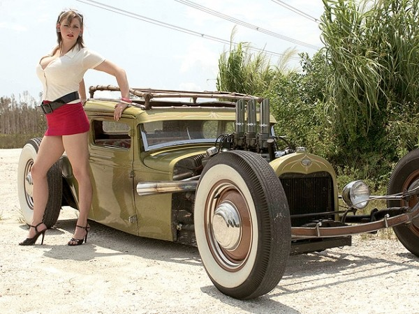 Hot Rod Hottie