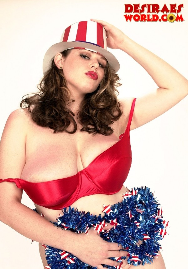 This Fourth of July, Have a Blast...On Desirae's Rack!
