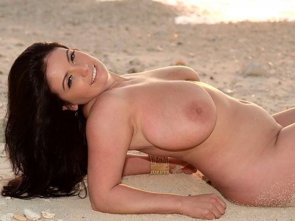 Beach Fun With Arianna
