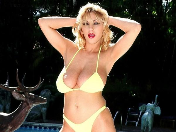 Autumn's Teenie Bikini