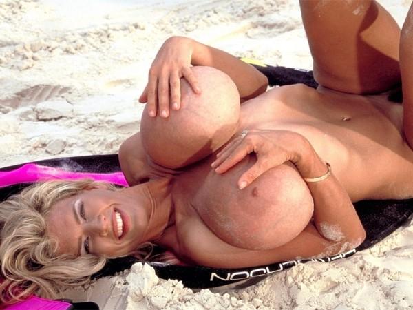 Boobs On The Beach