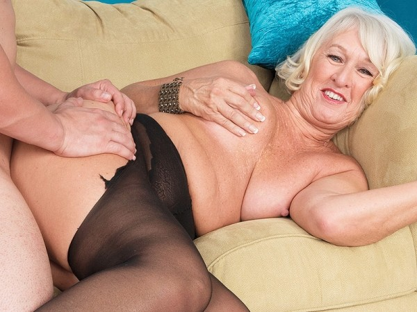 Class and taking it up her 60Something ass - Jeannie Lou