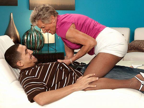 Sandra Ann is 75. The guy is 27!