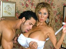 The astonishing Minka, bustiest HORNY HOUSEWIFE ever
