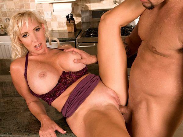 Short blonde sex