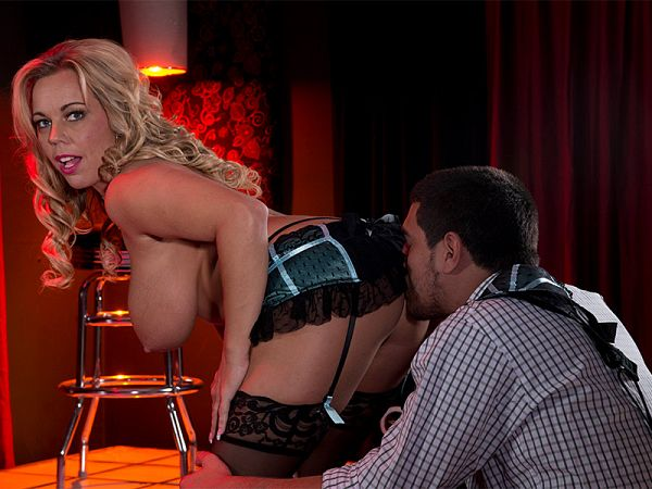 Amber Lynn's on-stage fuck show