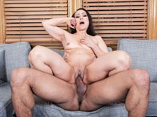 Talia gets ass-fucked by her personal trainer