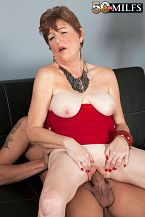 A creampie for Mrs. James
