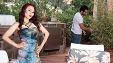 Red-hot M.I.L.F. Claudia gets ass-fucked by the gardener