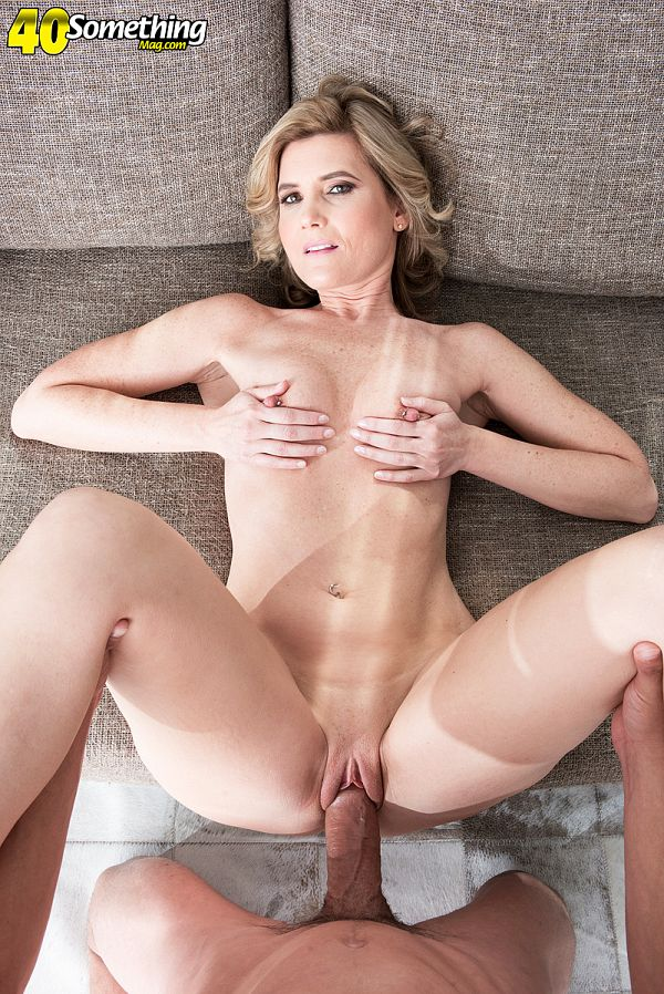 47-year-old cum slut takes it up the ass
