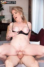 Now 50, Sindi Star returns for young cock!