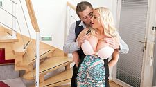 Blonde Fuck Doll Made For Double Penetration