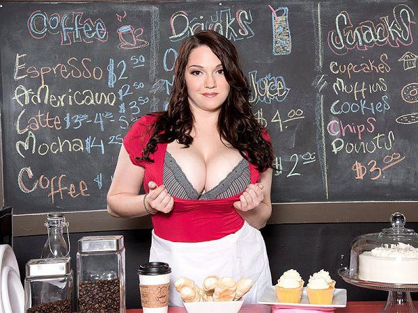 The StarBoobs barista