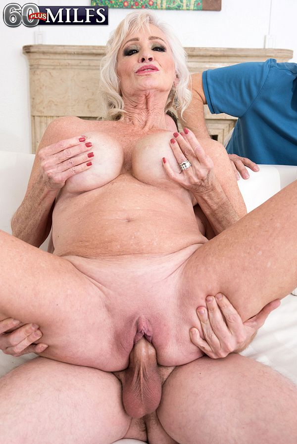 Leah can't stop fucking young cock!