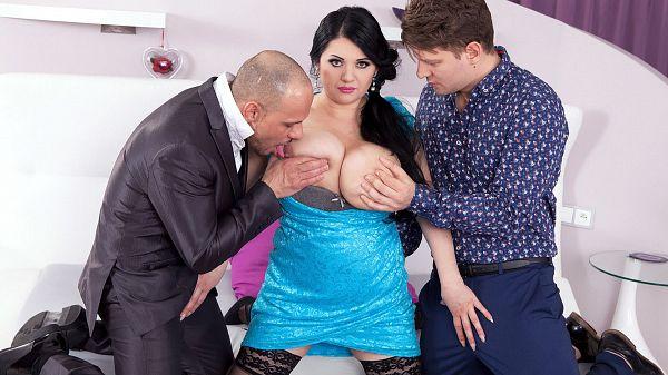 Natasha Sweet's Big-Tit Orgy