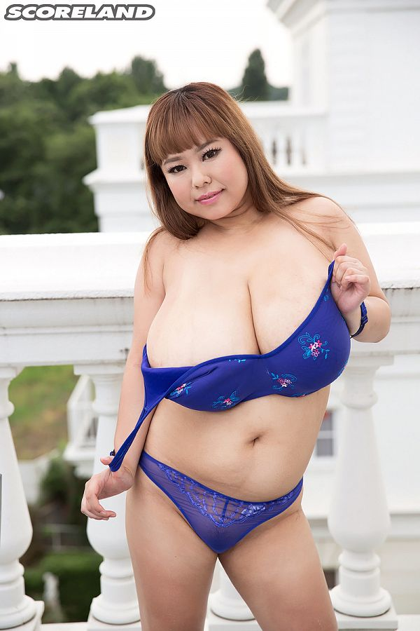 Short 'n' Stacked Japanese Idol Has Gigantic Tits