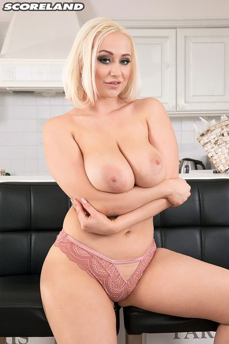 Busty British Blonde