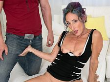 Sadie's first-ever porn video: This babe acquires ass-fucked!