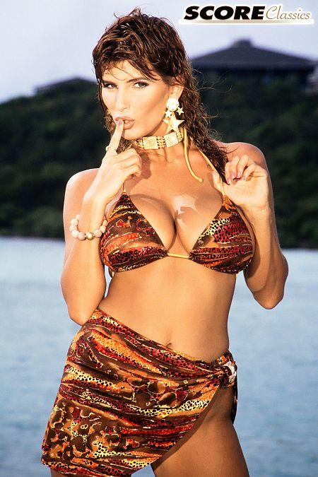 Bikini Babe On Big Boob Island
