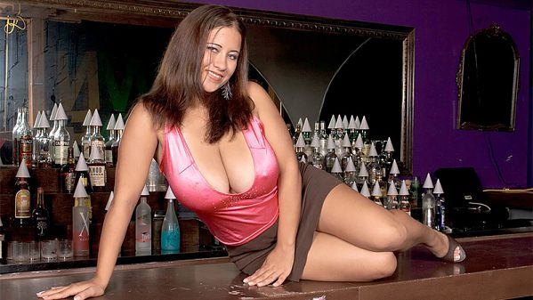 The Busty Bartender